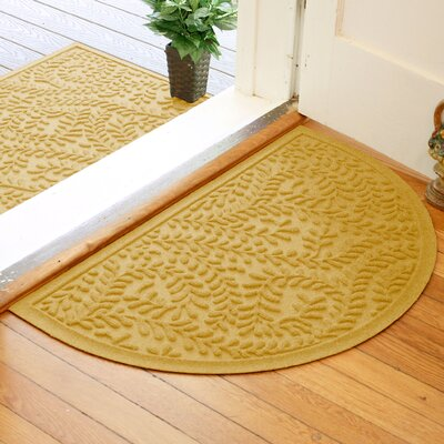 Fairborn Aqua Shield Boxwood Doormat Color: Yellow