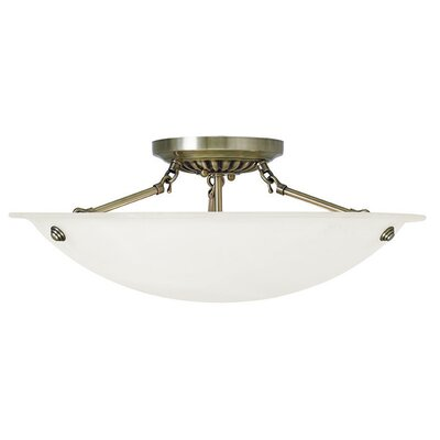 Everett 4-Light Semi Flush Mount