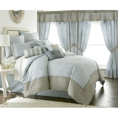 Sagebrush 24 Piece Comforter Set Size: King