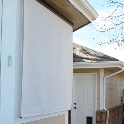 Motorized Semi-Sheer Solar Shade Size: 72 W x 96 L, Color: Maui