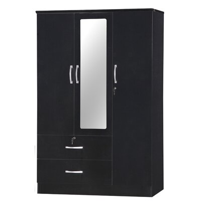Roquemore Armoire Finish: Black