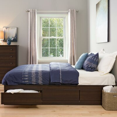 Haycraft King  Storage Platform Bed