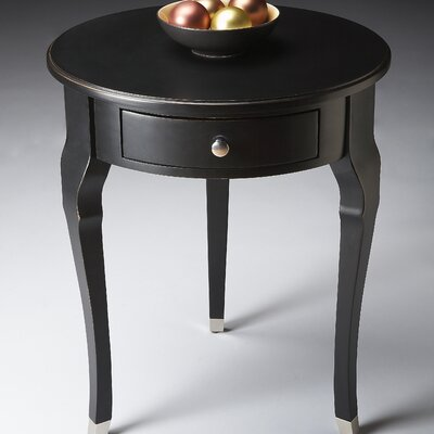Francine End Table Finish: Black Licorice