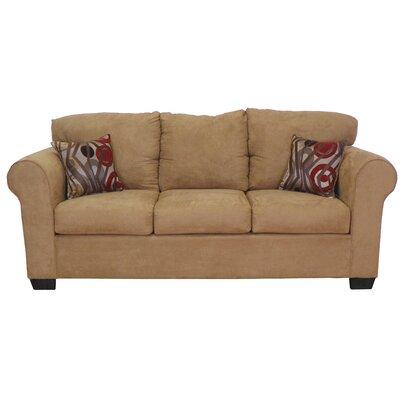 Franklin Sofa Upholstery: Bulldozer Mocha / Transform Mocha