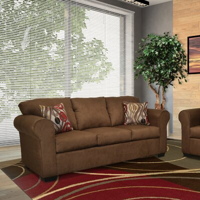 Belinda Sofa Upholstery: Bulldozer Java / Transform Mocha
