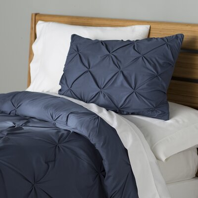 Fulham Comforter Set Color: Indigo, Size: King