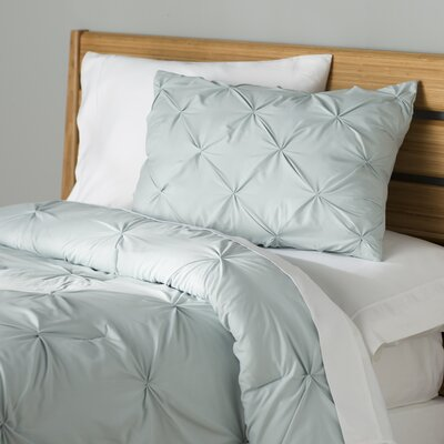 Fulham Comforter Set Color: Misty Blue, Size: Twin