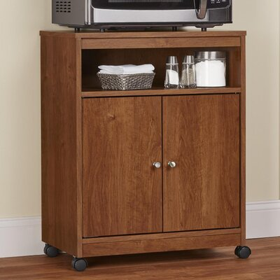 Gallipolis Microwave Cart Finish: Medium Brown