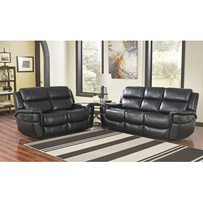 Kenai River Power Reclining Sofa and Loveseat Set