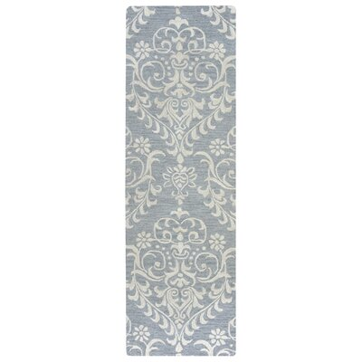 Noland Hand-Tufted Gray Area Rug Rug Size: Runner 26 x 8