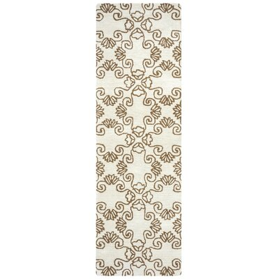 Restoration Hand-Tufted Beige Area Rug Rug Size: Rectangle 10 x 14