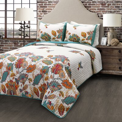 Blackfoot River 3 Piece Quilt Set Size: King