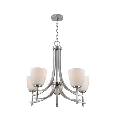 Braeswood 5-Light Shaded Chandelier