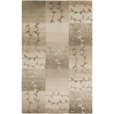 Jamaris Brown Rug Rug Size: Rectangle 2 x 3