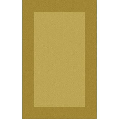Briargate Gold Solid Area Rug Rug Size: Rectangle 12 x 15