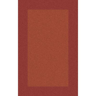Briargate Rust Solid Area Rug Rug Size: Rectangle 12 x 15