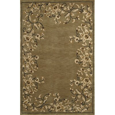 Athena Brown Area Rug Rug Size: 8 x 11