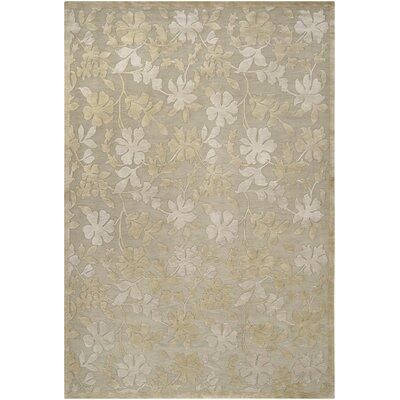 Athena Moss/Slate Area Rug Rug Size: 9 x 13