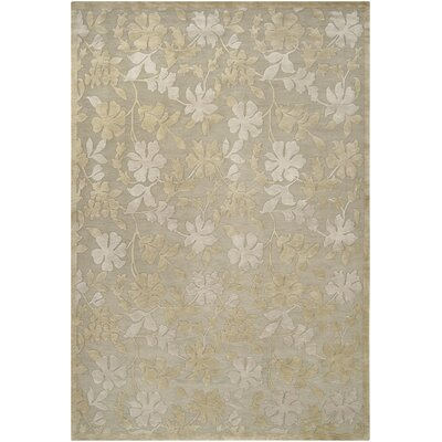 Jamaris Moss/Slate Area Rug Rug Size: Rectangle 9 x 13