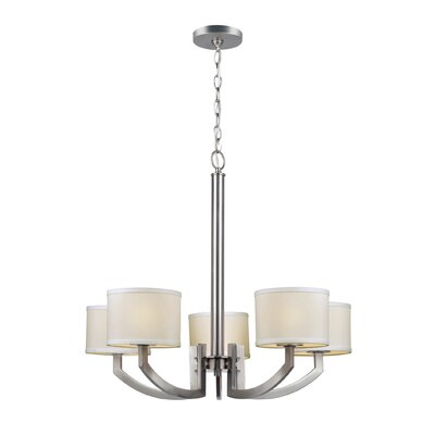 Brinwood 5-Light Drum Chandelier