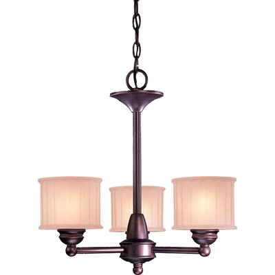 Beckemeyer 3-Light Drum Chandelier