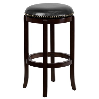 Beckenham 29 Swivel Bar Stool Finish: Cappuccino