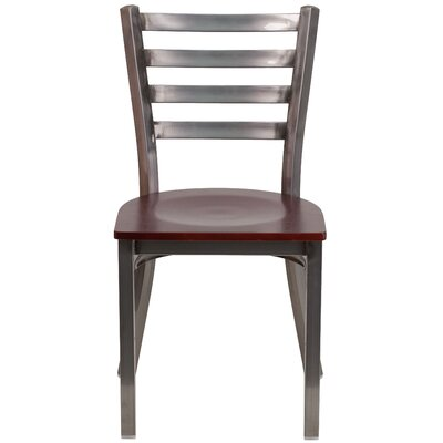 Loughran Side Chair Finish: Mahogany