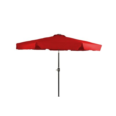 10 Behrendt Illuminated Umbrella Fabric: Red