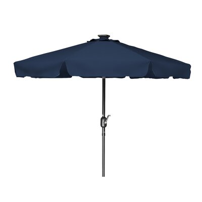 7 Behrendt Illuminated Umbrella Fabric: Blue