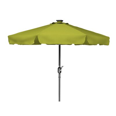 7 Behrendt Illuminated Umbrella Fabric: Light Green