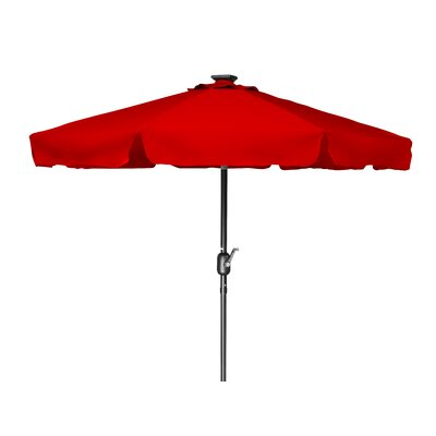 7 Behrendt Illuminated Umbrella Fabric: Red