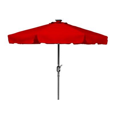 8 Behrendt Illuminated Umbrella Fabric: Red