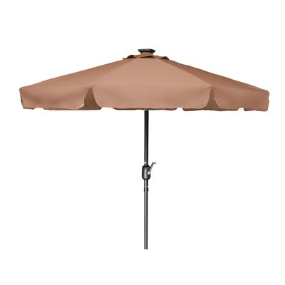 7 Behrendt Illuminated Umbrella Fabric: Tan