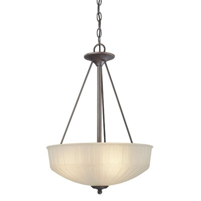 Beckemeyer 3-Light Inverted Pendant