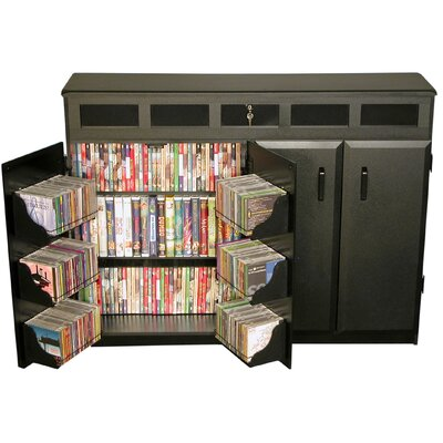 Top Load Multimedia Cabinet Finish: Black