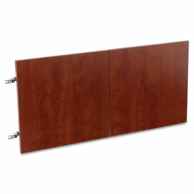 Belle 0.71 H x 14.09 W Desk Hutch Door Color: Medium Cherry
