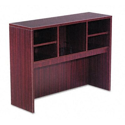 Belle 35.43 H x 47.05 W Desk Hutch Finish: Mahogany