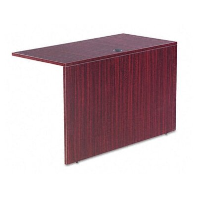 Belle 29.65 H x 47.24 W Desk Bridge Finish: Mahogany