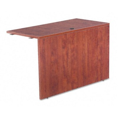 Belle 29.65 H x 47.24 W Desk Bridge Finish: Medium Cherry