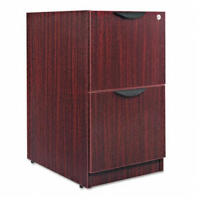 Belle 28.5 H x 15.625 W Desk File Pedestal Finish: Mahogany
