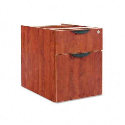 Belle 19.25 H x 15.625 W Desk File Pedestal Finish: Medium Cherry