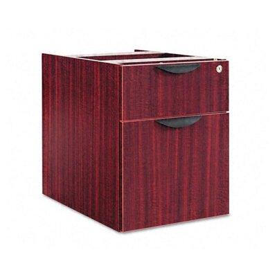 Belle 19.25 H x 15.625 W Desk File Pedestal Finish: Mahogany