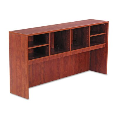 Belle 35.43 H x 64.76 W Desk Hutch Upholstery: Medium Cherry