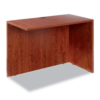 Belle 29.625 H x 42 W Right Desk Return Finish: Cherry
