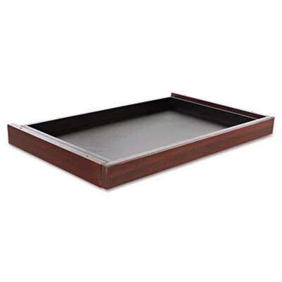 Belle 24.29 W x 14.96 D Desk Drawer Finish: Mahogany