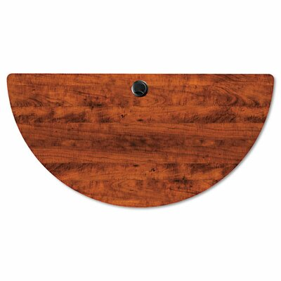 Belle Half Round Training Table Top Finish: Medium Cherry