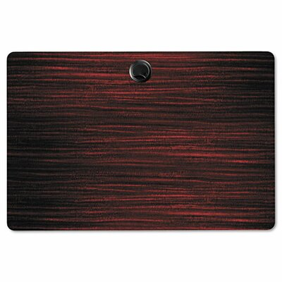 Belle Rectangular Training Table Top Finish: Mahogany