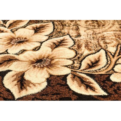 Chapman Brown Indoor/Outdoor Area Rug Rug Size: 8 x 10
