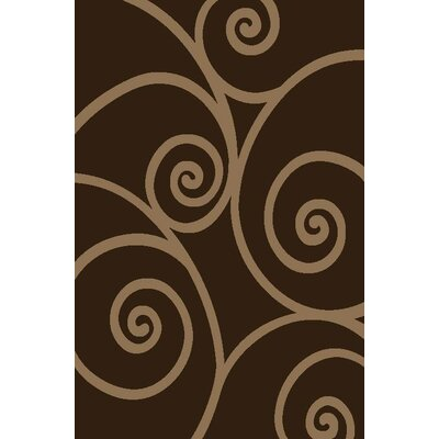Chapman Brown Indoor/Outdoor Area Rug Rug Size: 5 x 7
