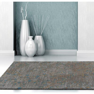 Chapman Gray/Blue Indoor/Outdoor Area Rug Rug Size: 5 x 7
